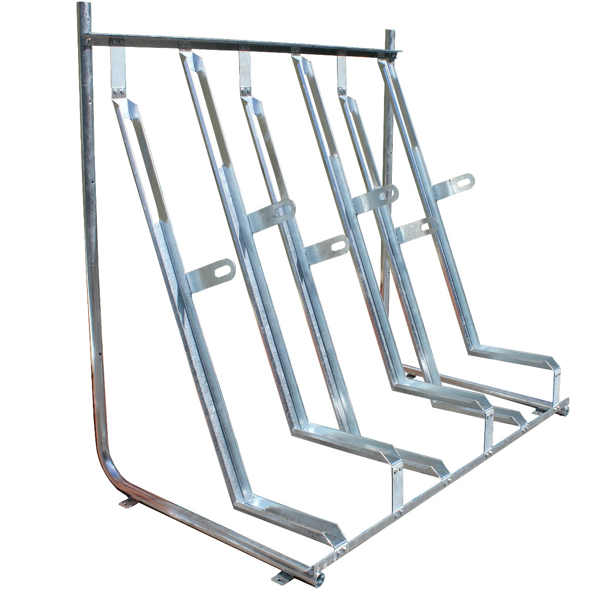 Semi Vertical Cycle Stands