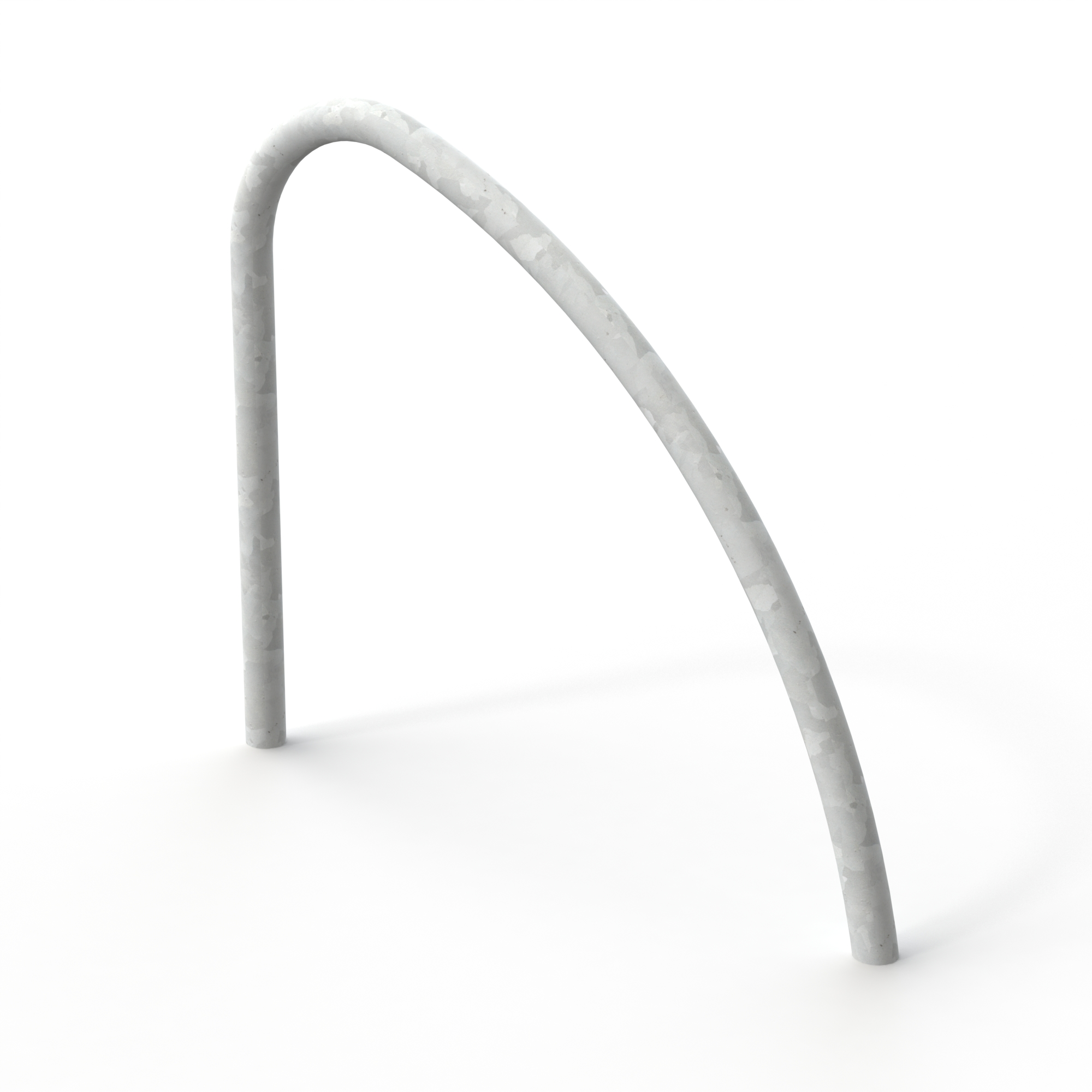 Fin Shaped Cycle Stand Galvanised – Root Fixed