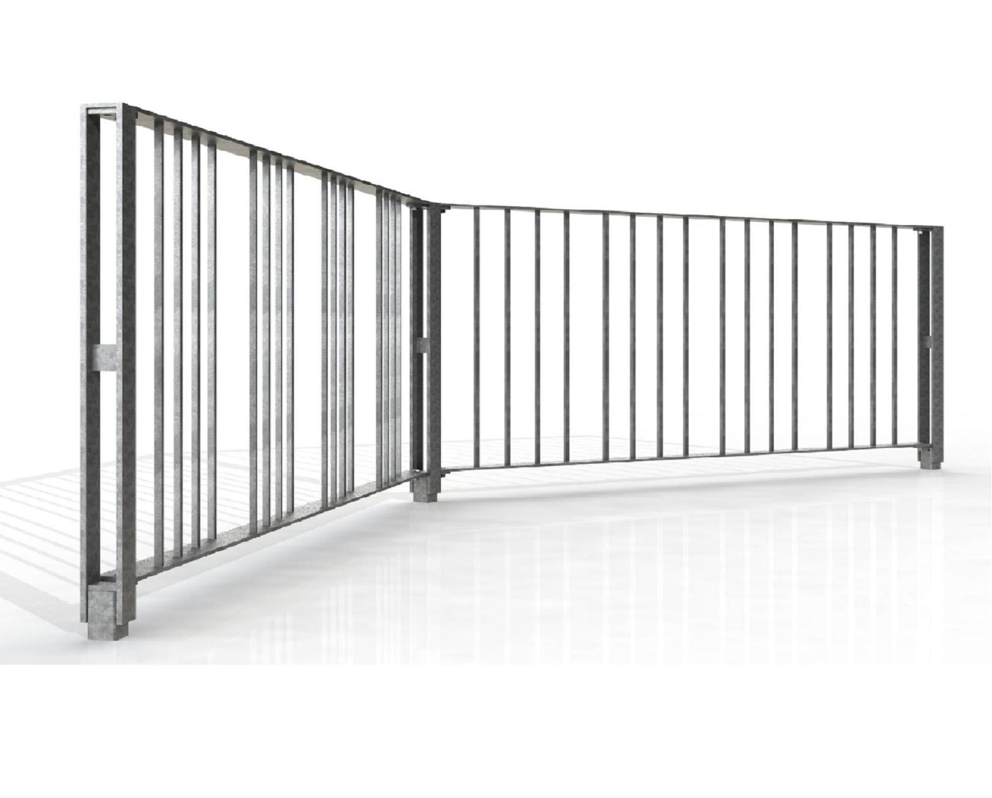 Security bollards guards rail street furniture