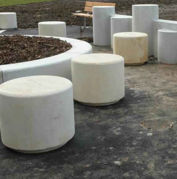 Sherwood Concrete Bench