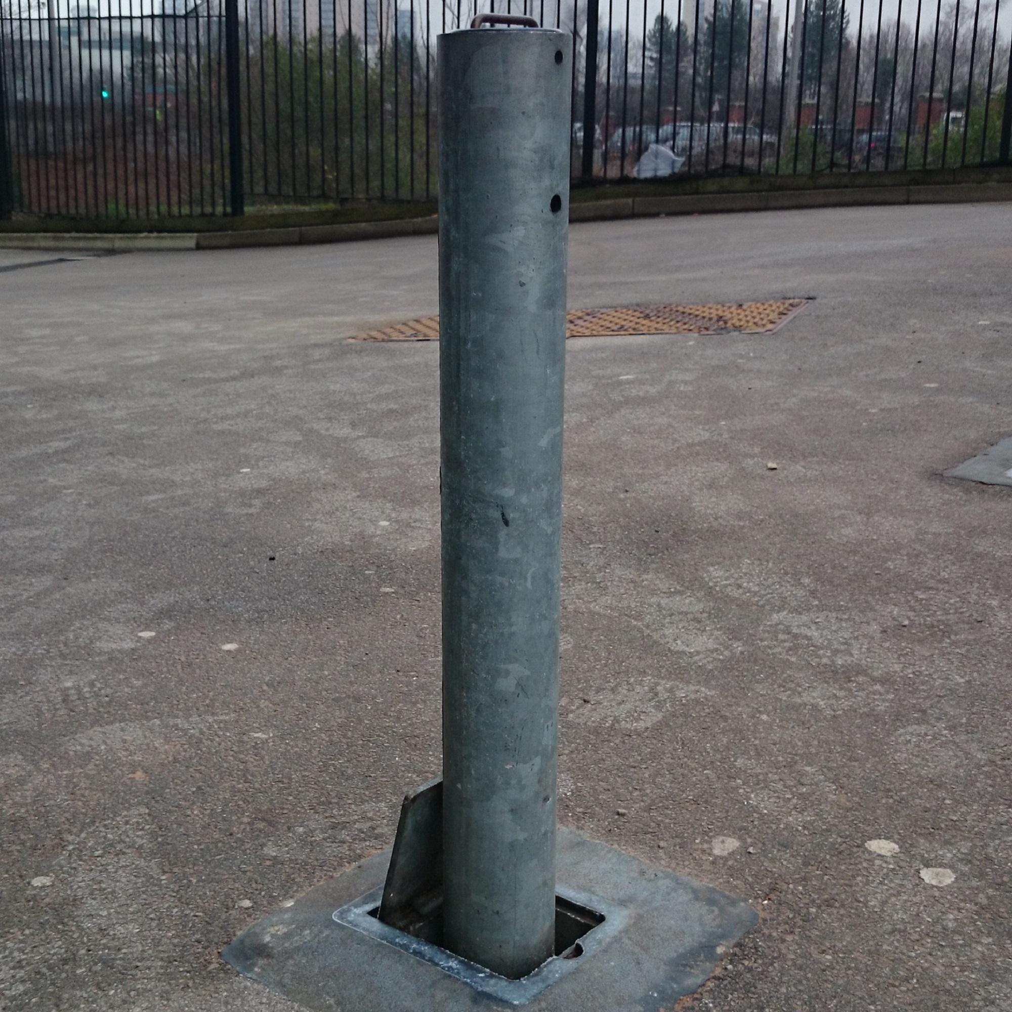 76mm Steel Telescopic Bollard