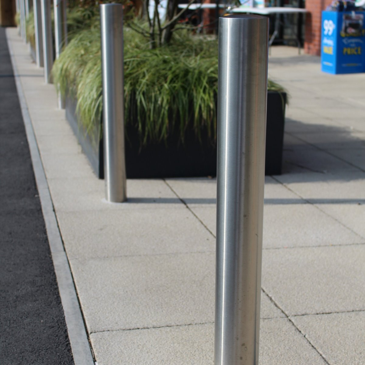 114mm Titan Stainless Steel Bollard
