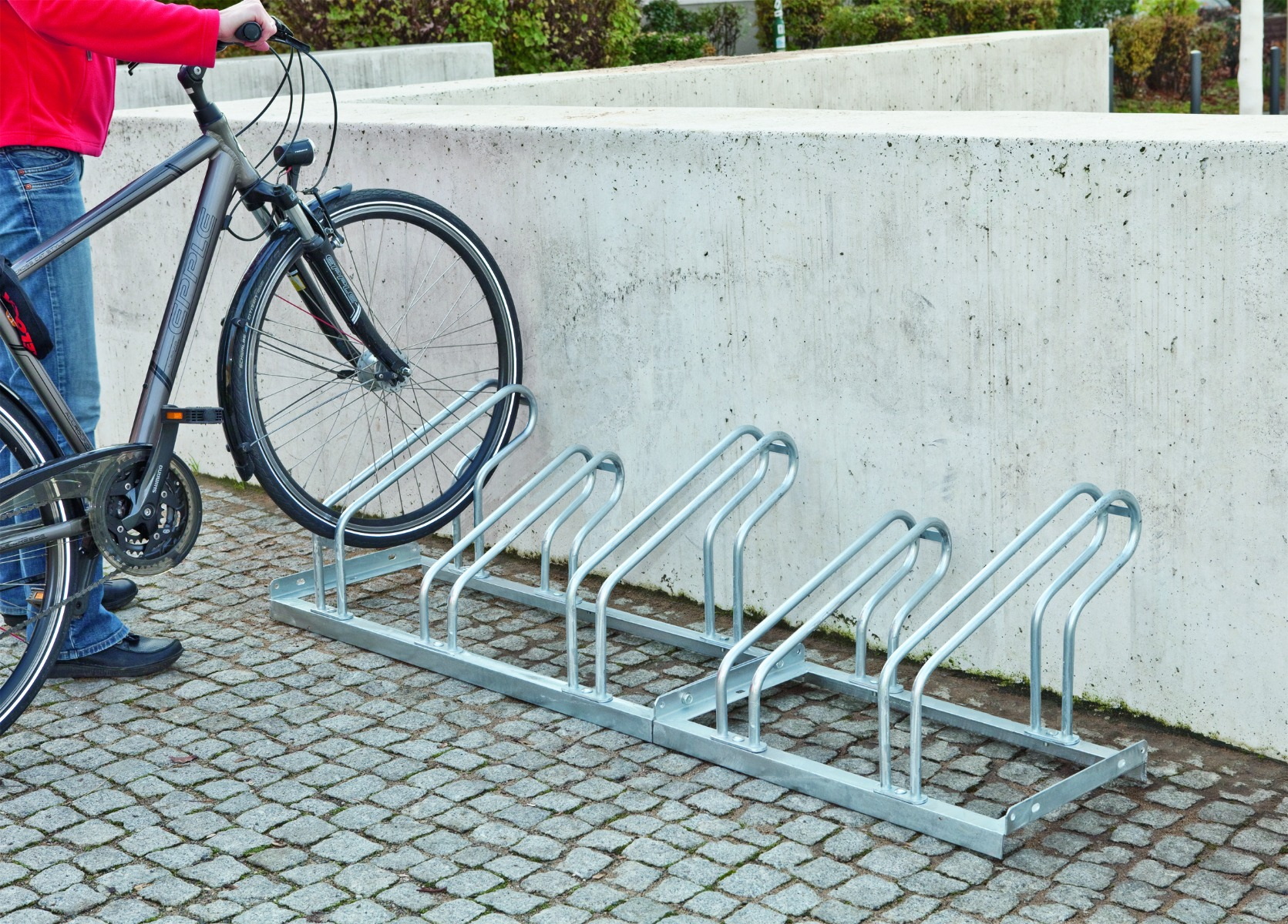 Lo Hoop Cycle Rack