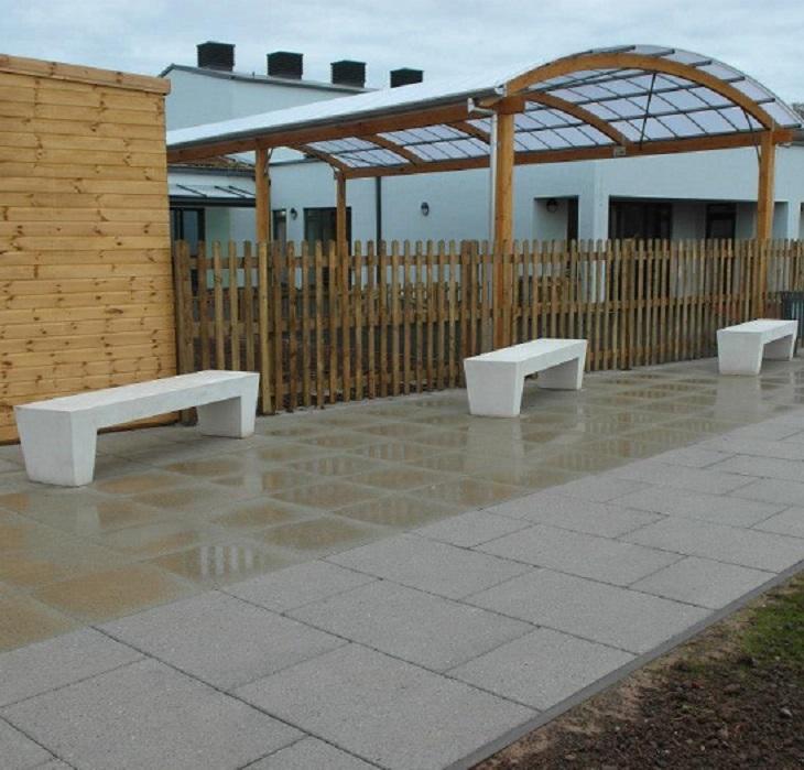 Belford Concrete Bench
