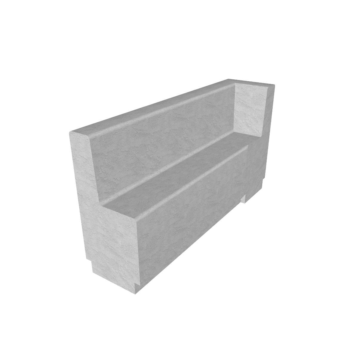 Matfen Concrete Bench
