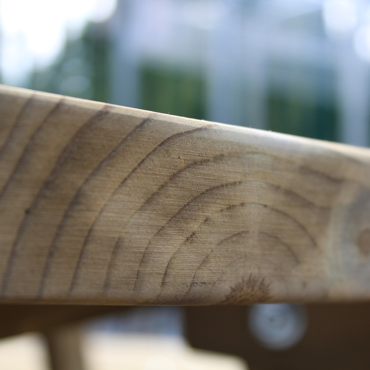 Moko Round Timber Picnic Bench
