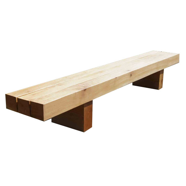 Park Benches, Rustic Wooden Bench, Street Furniture