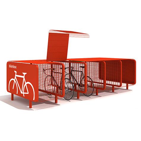 Bike Box Cycle Storage