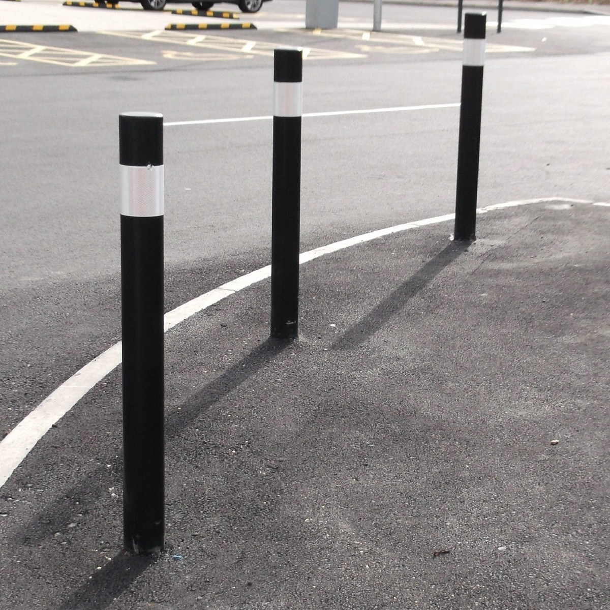 76mm Diameter Titan Steel Bollard