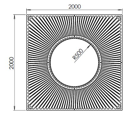 Tree Grille 2000 SQCr